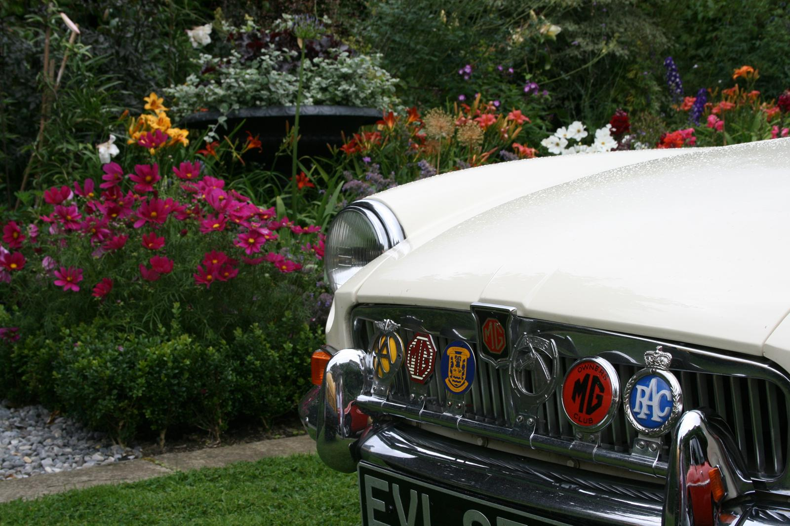 Mervyn's MG at Collon House Run 2014
