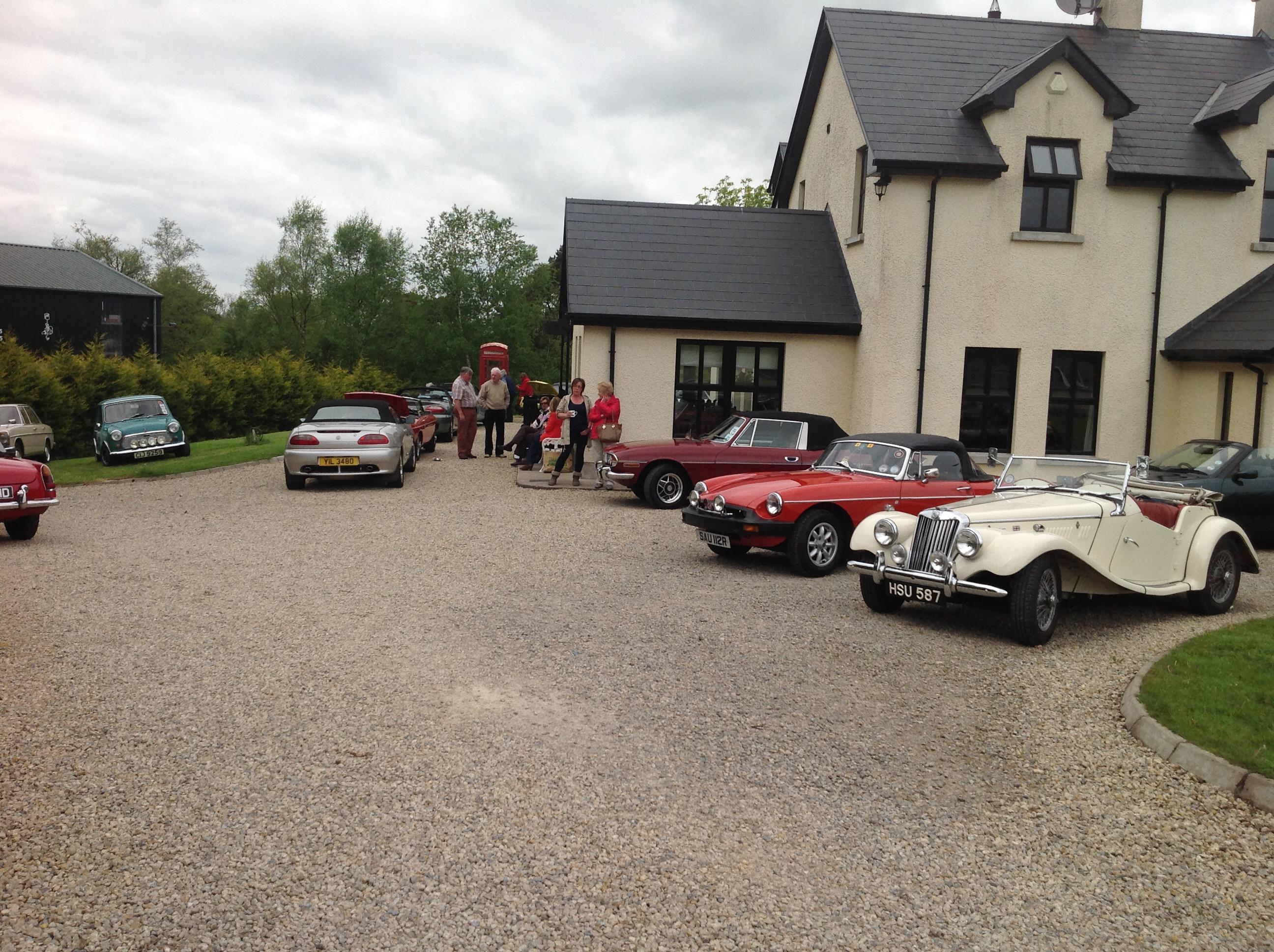 Cars at the Omagh run db